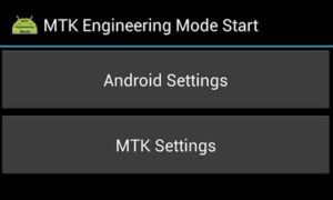MTK Engineering Mode APK download