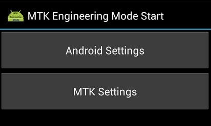 MTK Engineering Mode APK download - Playstore Download